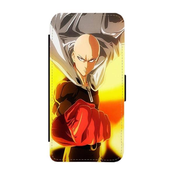Manga One Punch Man Saitama iPhone 12 Pro Max Plånboksfodral