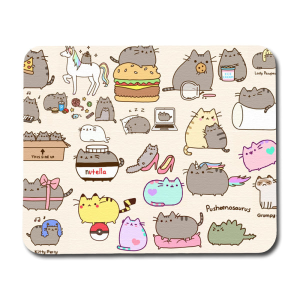 Pusheen Musmatta multifärg one size