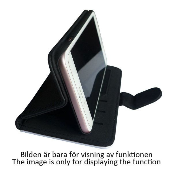 Skrattande Katt iPhone 5C Plånboksfodral