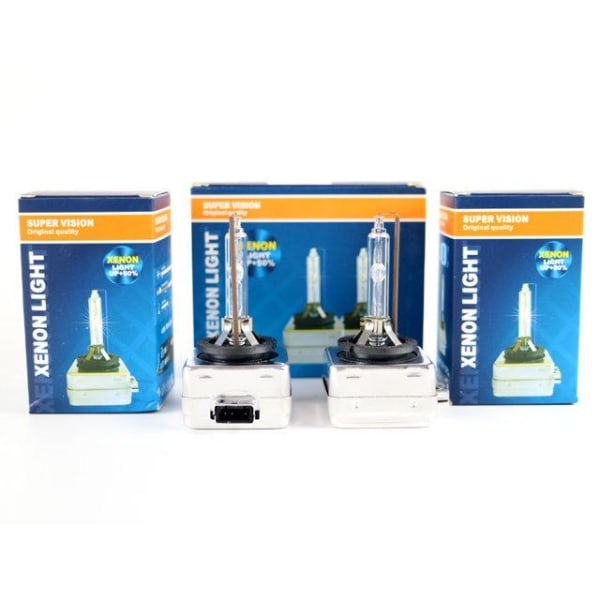 Xenon Lampor +50% D3S 35W 4300k - 8000k xenonlampor Supervision D3s 6000k 2-pack