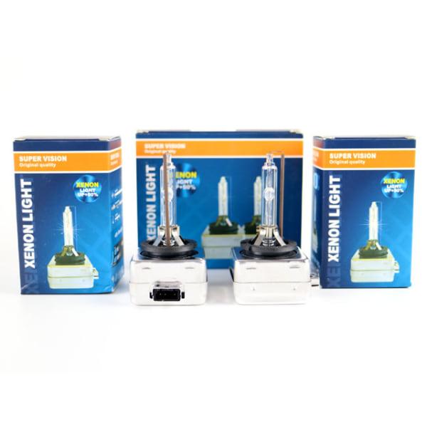 Xenon Lampor +50% D1S 35W 4300k - 8000k xenonlampor Supervision D1s 6000k 2-pack