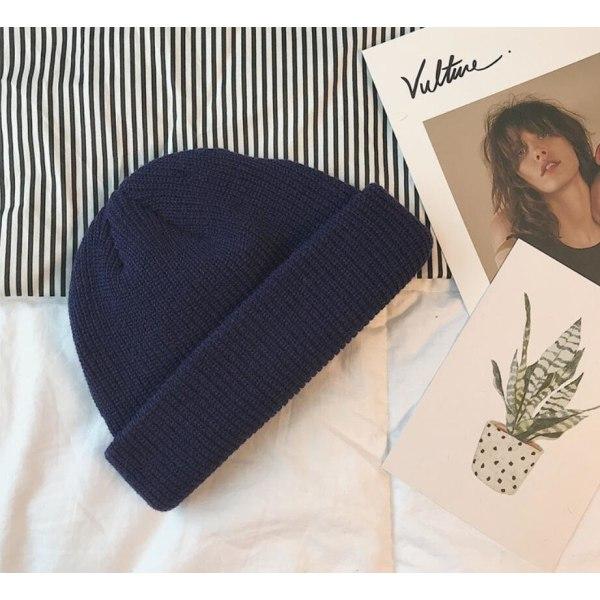 Beanie Hat Marinblå