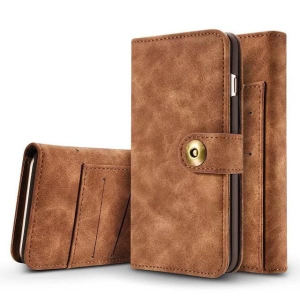 Detachable Wallet Case iPhone 6 Mörkbrun