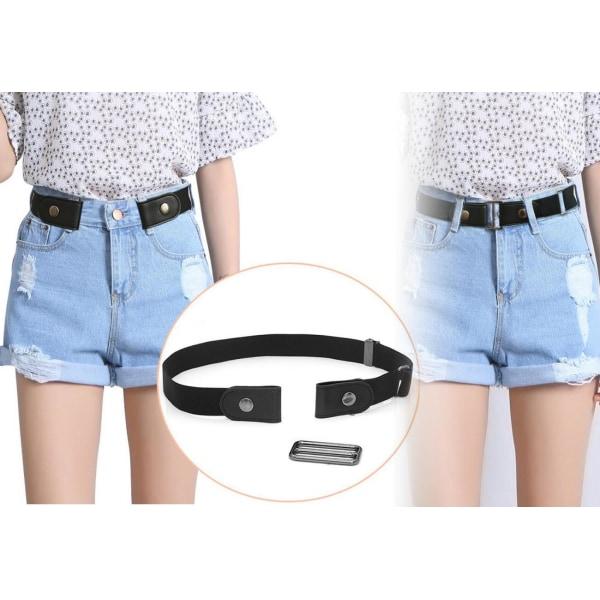 Elastic belt Svart