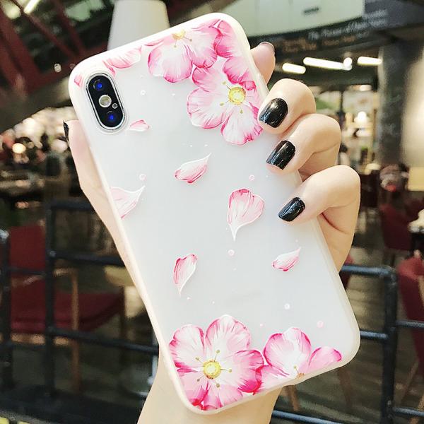 Flower Case- iPhone 7/8+ Transparent