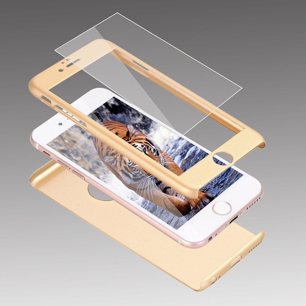 Full Protected Case - iPhone 11 Pro Max Guld