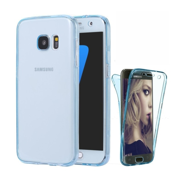 Full Protected TPU case-Galaxy S5 Blå