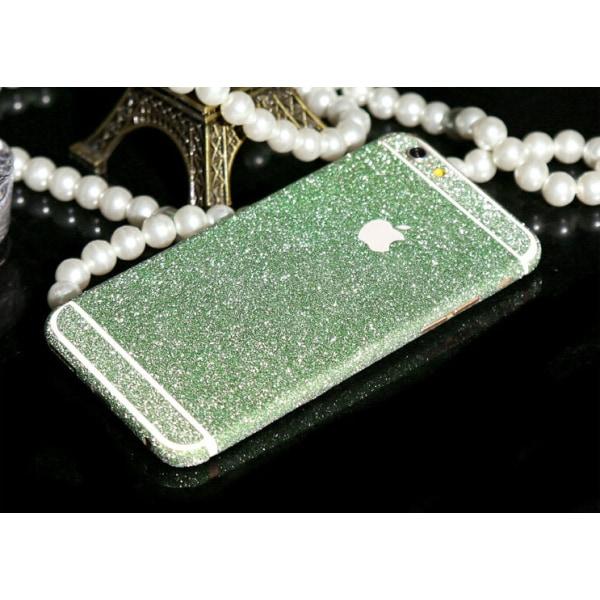 Glitter film iPhone 6+/6s+ Grön