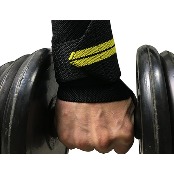 Gym Wrist Wraps - 4 Stripes grå