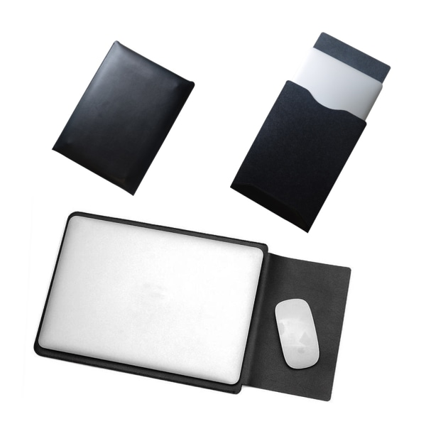 MacBook Leather Case-11,6 Rosa