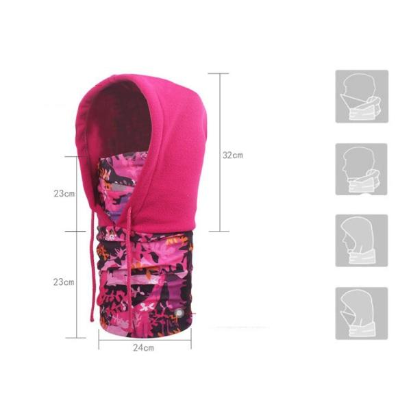 Multi functional face cover Ljusblå