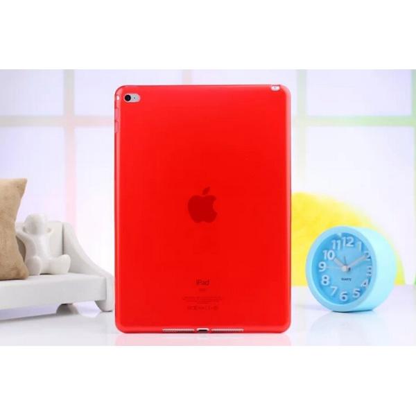 TPU transparent skal iPad Pro Röd