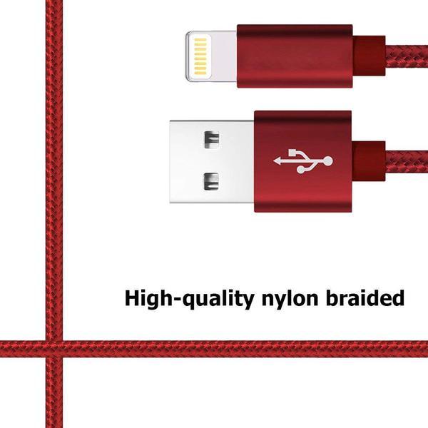 2 st 2m top kvalitet USB-C färgade kabel|svart svart