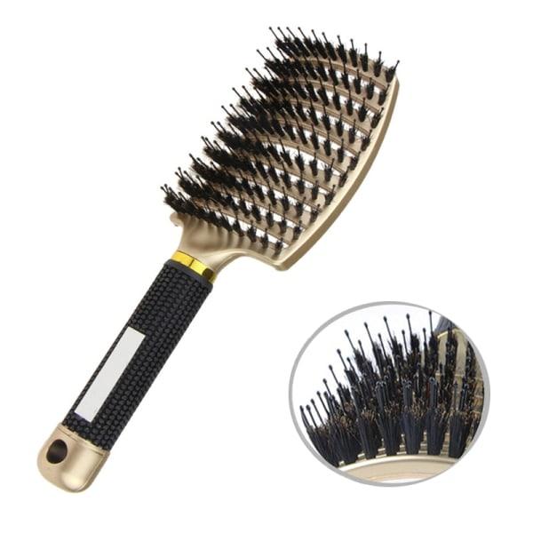 2 st Professionell böjd Frisör  hårborste