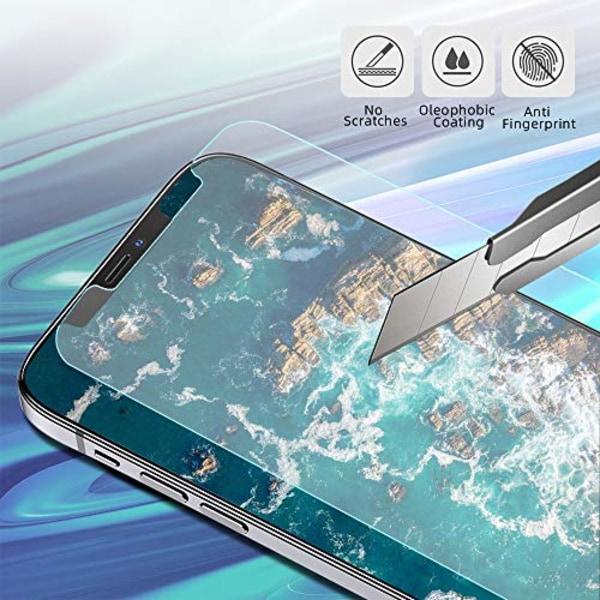 2 st skärmskydd för iphone 12 pro max pro|2.5D