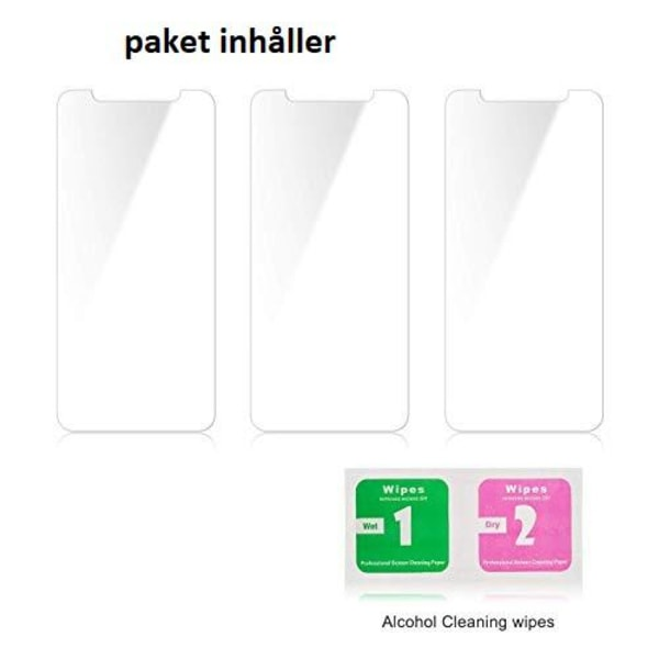 3 st Härdat glas  för iphone 11 och Xr
