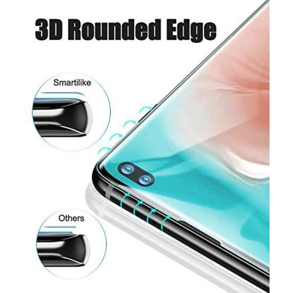 4 st  härdat glas för Samsung S10 plus