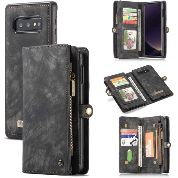 CaseMe 008 för Samsung S10 plus|svart svart