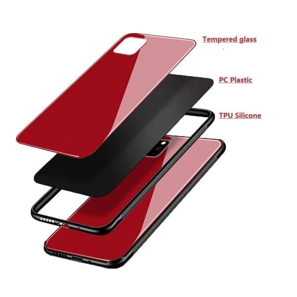Forcell glas backfodral för iphone 11 pro max svart Svart