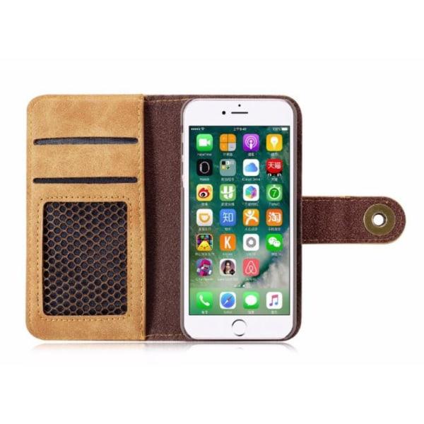 iPhone 7 2 i 1 läderfodral