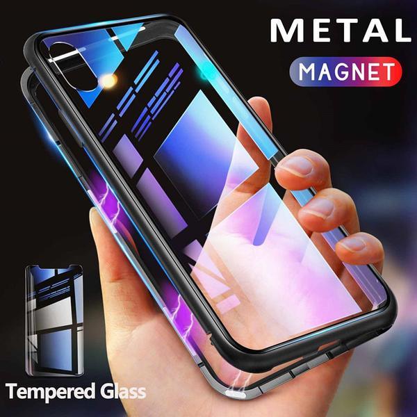 Magneto  fodral för iphone 7/8 svart Svart