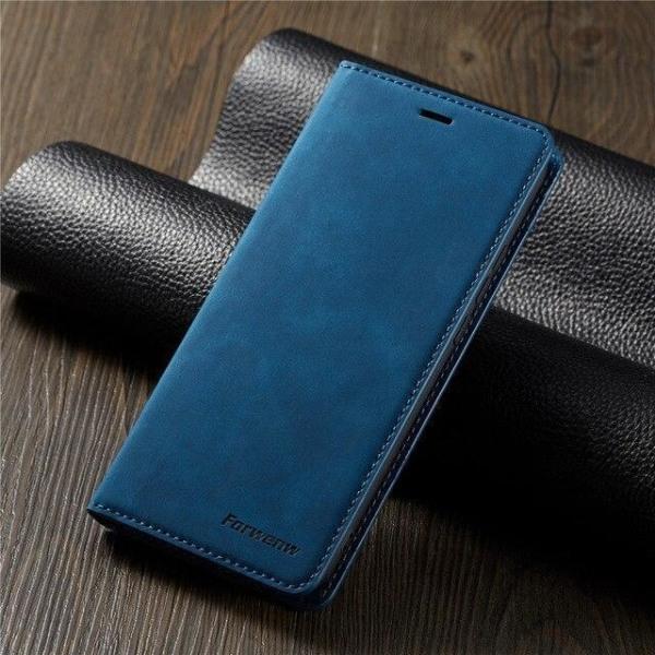 Top kvalitet fodral för Samsung A41  mörk Mörklila