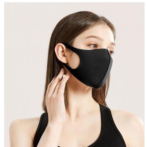 3-pack Tvättbar Skyddsmask/Munskydd Lyx