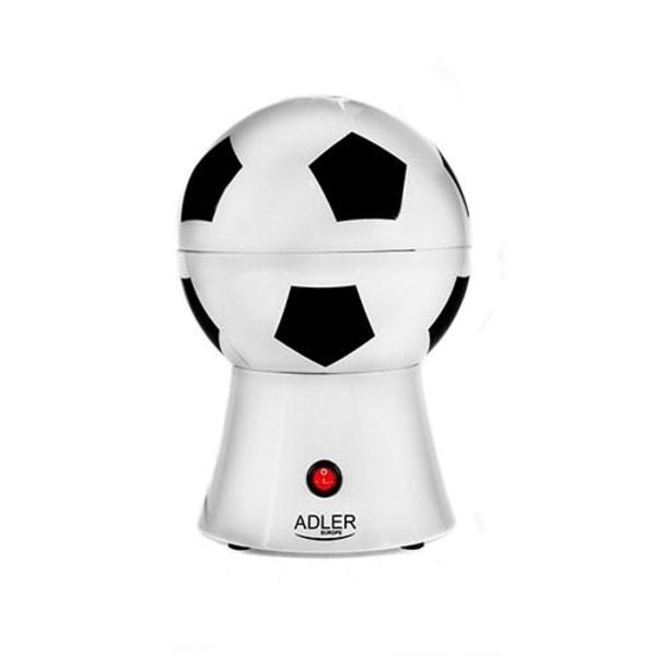 Adler popcornmaskin som ser ut som en fotboll