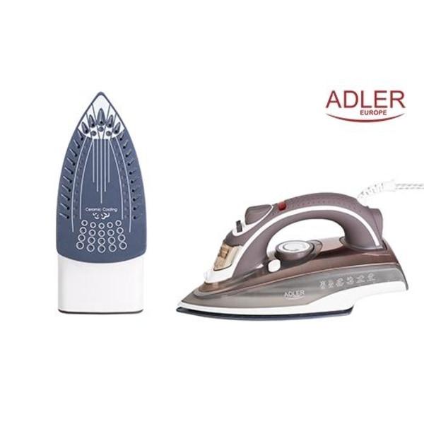 Adler strykjärn med 3000W - beige/vit