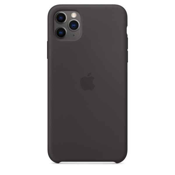 Apple Silicone Case for iPhone 11 Pro Max, Black