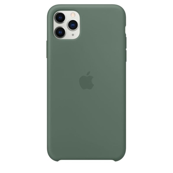 Apple Silicone Case for iPhone 11 Pro Max, Pine Green