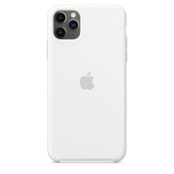 Apple Silicone Case for iPhone 11 Pro Max, White