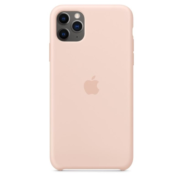Apple Silicone Case for iPhone 11 Pro, Pink Sand