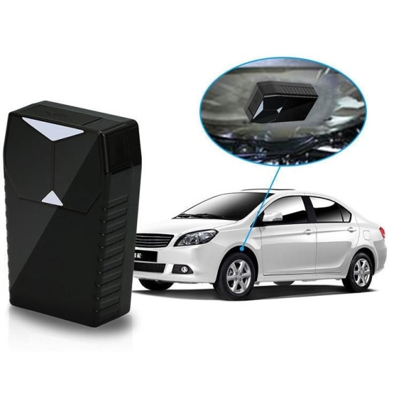 Bärbar Mini GSM, GPRS, GPS Tracker med magnet för bil/båt/husvag