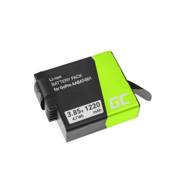 Batteri till GoPro HD HERO5 HERO6 HERO7 Black 3.85V 1220mAh