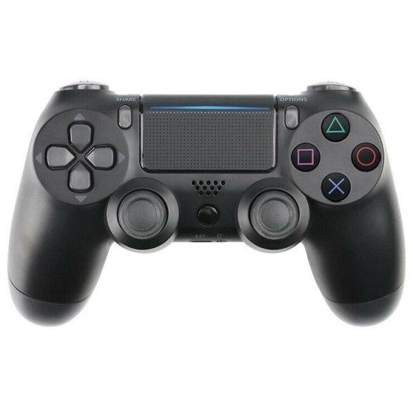 Bluetooth trådlös handkontroll till PS4, Svart