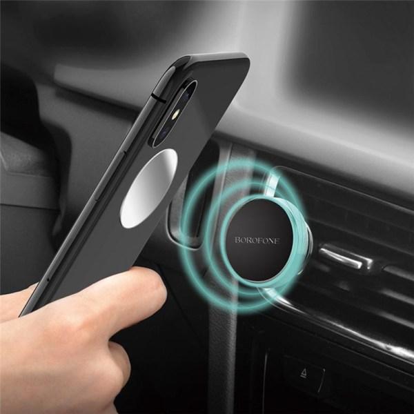 Borofone Car holder BH6 - Magnetisk Bilhållare för fläktgaller,