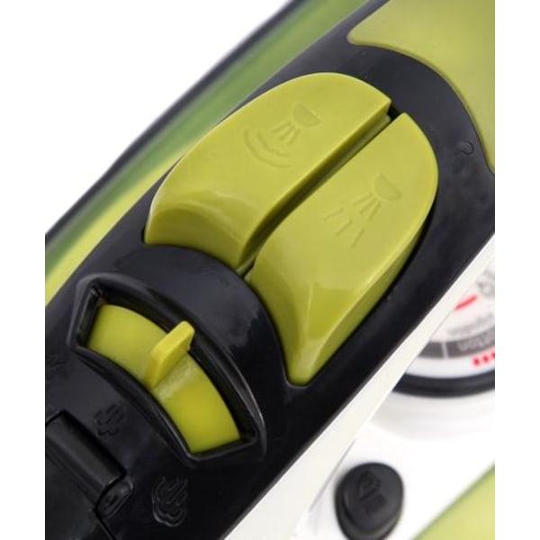 Camry ångstrykjärn, 2600 W, vit/svart/limegrön