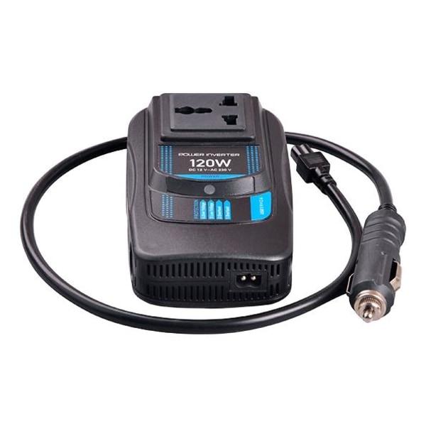 CAR120 Power Inverter, modifierad sinusvåg, 230V, 24V DC, USB 5V