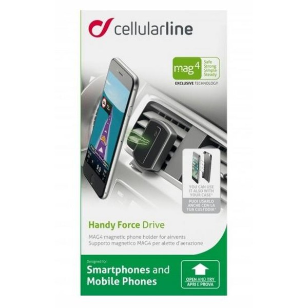 Cellularline Mobilhållare Handy Force Drive MAG 4