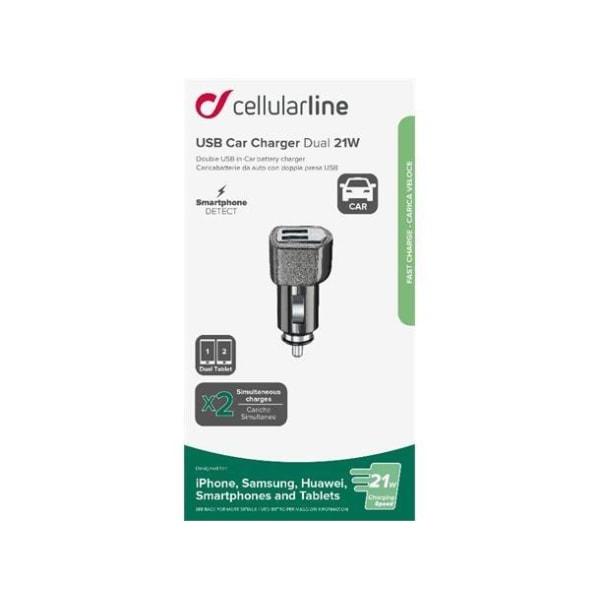 Cellularline USB-billaddare