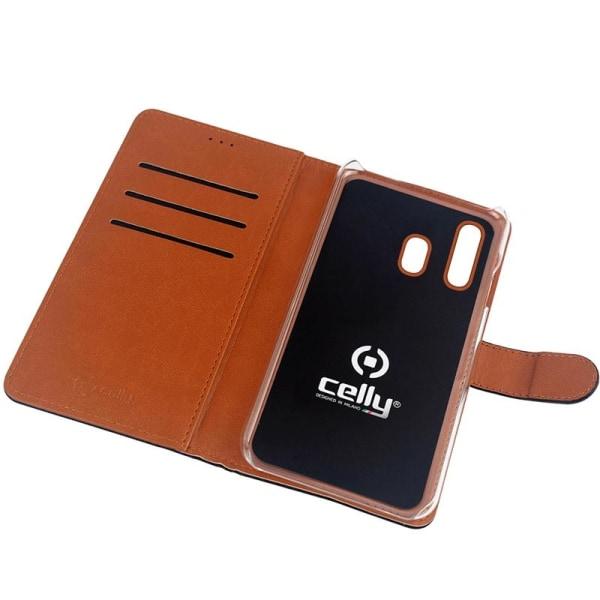 Celly Wallet Case Galaxy A20e Sv/be
