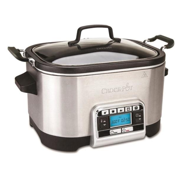 Crock-Pot Multicooker 5,6L med timer