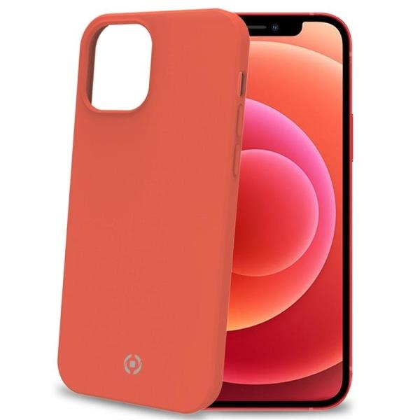 Cromo Soft rubber case iPhone 12 Mini Orange