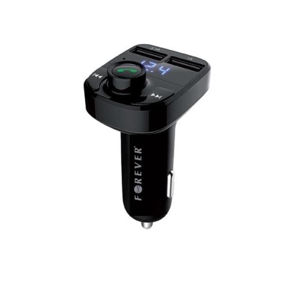 Forever FM-sändare med Bluetooth-handsfree, 2xUSB (TR-330)