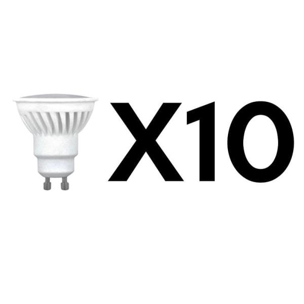 Forever LED-lampa GU10, 66W 230v, Vit neutral - 10-pack