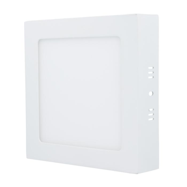 Forever Light kvadratisk LED-plafond, 12W, 3000K (varmvit)