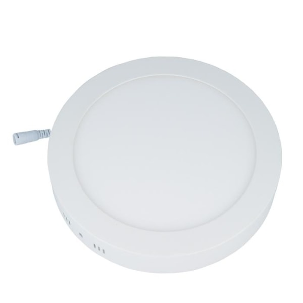 Forever Light LED-plafond, rund, 12W, 3000K (varmvit)