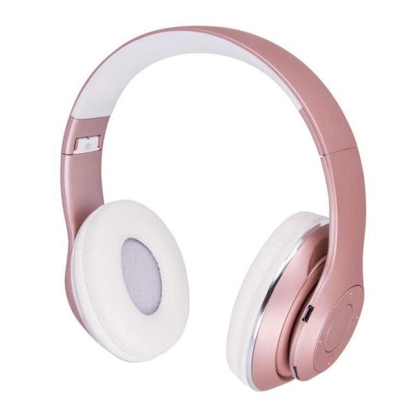 Forever Music Soul BHS-300, trådlösa hörlurar, rosa