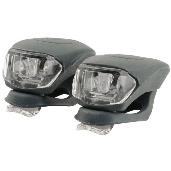 Främre och bakre LED-belysning till cykel